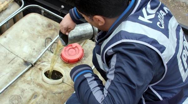 Gaziantep'te Kaçak Akaryakita 6 Gözalti