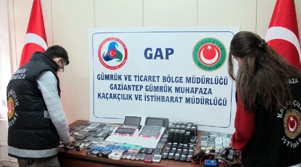 Gaziantep'te Kaçakçilik Operasyonu: 6 Gözalti