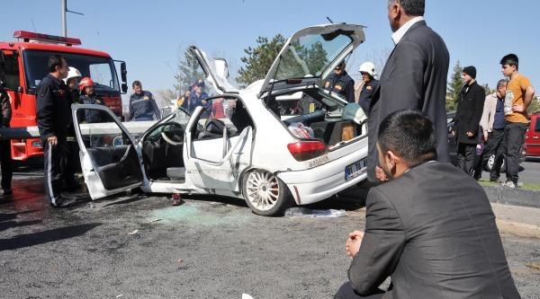 Gaziantep'te Kaza: 1 Ölü, 3 Yaralı