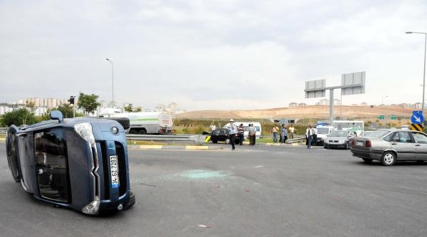 Gaziantep'te Kaza: 6 Yaralı
