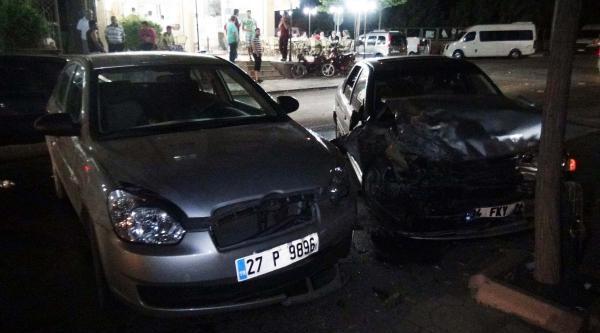 Gaziantep'te Kaza: 8 Yaralı