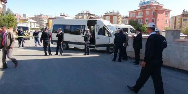 Gaziantep'te Öğrenci Servisi Kaza Yapti: 16 Yarali