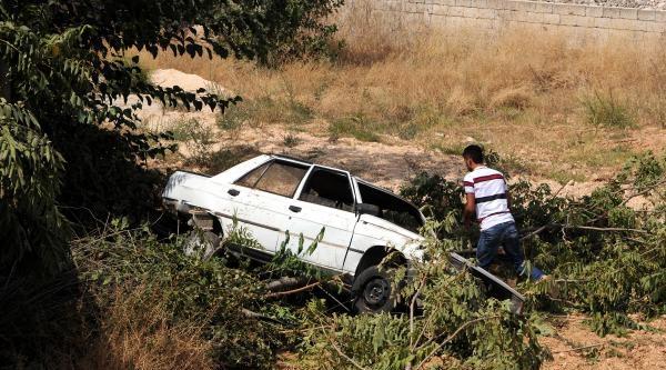 Gaziantep'te Otomobil Devrildi: 3 Yaralı
