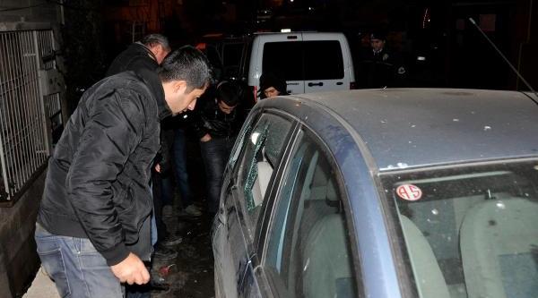 Gaziantep'te Park Halindeki Otomobilden Hirsizlik