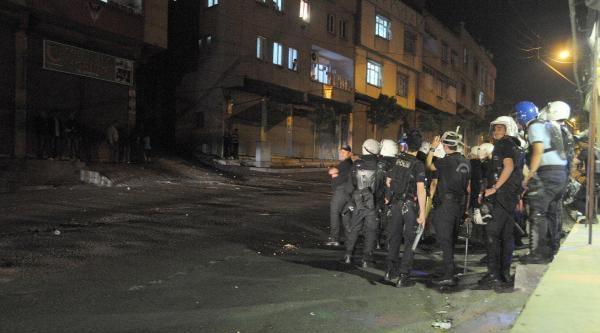 Gaziantep'te Pkk Yandaşları İle Polis Arasında Gerginlik