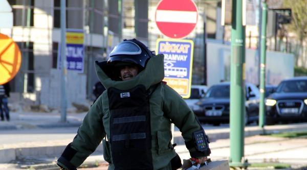 Gaziantep'te Refüje Bırakılan Kutu Boş Çikti