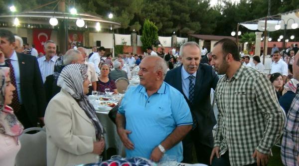 Gaziantep'te Şehit Ve Gazi Aileleri İftarda Buluştu