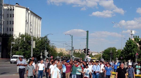 Gaziantep'te 'suriyelileri İstemiyoruz' Eylemi