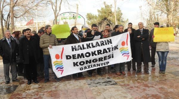 Gaziantep'te 'tutuklu Vekillere Özgürlük' Eylemi