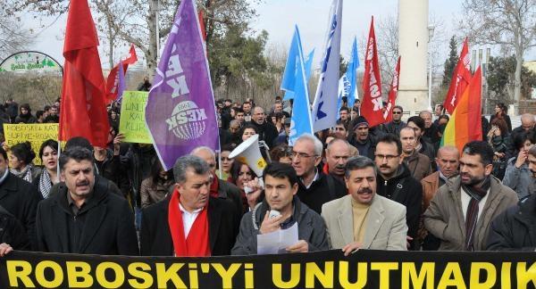 Gaziantep'te 'uludere' Protestosu