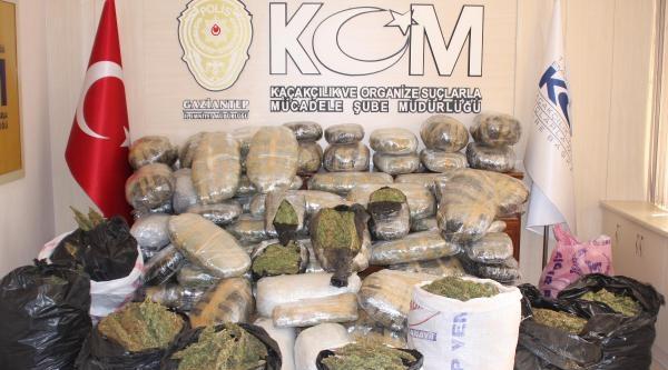 Gaziantep'te Uyuşturucu Operasyonunda 2 Tutuklama