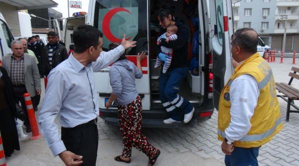 Gaziantep'te Yangın Çikan Binada 5 Kişi Dumandan Etkilendi