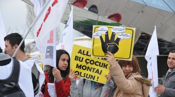 Gaziantep'te Yolsuzluk Protestosu