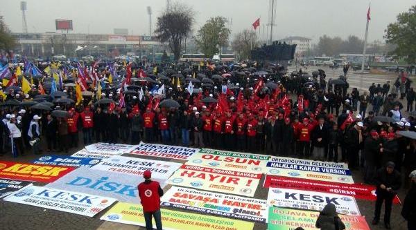 Gaziantep'te Yüksekova Protestosu