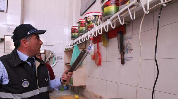 Gaziantep'te Zabıtadan Gıda Denetimi