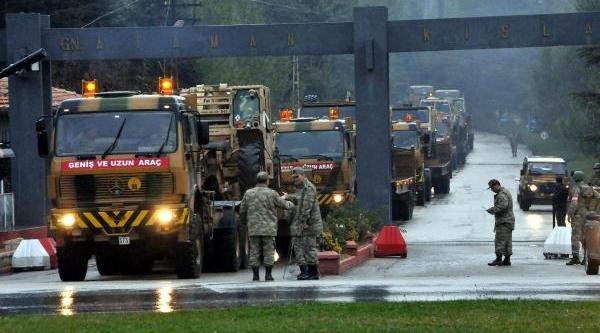 Gaziantep'teki Patriot Savunma Sistemlerinin Personeli Değişiyor