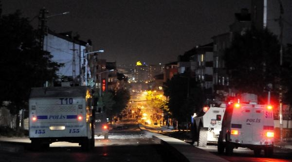 Gazi'de Soma Protestosuna Polis Müdahalesi