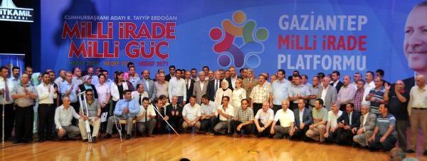 Gazinatep'te 125 Stk'dan Başbakan Erdoğan'a Destek Sözü