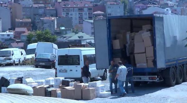 Gaziosmanpaşa'da 265 Bin Paket Kaçak Sigara Ele Geçirildi