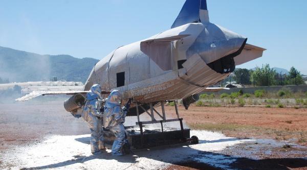 Gazipaşa Havalimanı'nda Yangın Tatbikatı - Ek Fotoğraflar