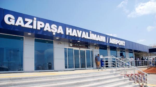 Gazipaşa Havalimanı'nın Adı 'gazipaşa- Alanya' Olarak Değişti