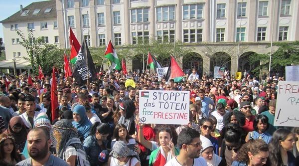 Gazze İçin Essen'de Eylem