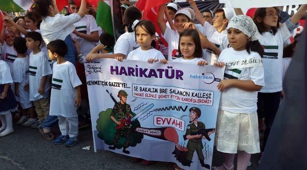 Gazze'de Öldürülen Çocuklar İçin Eylem