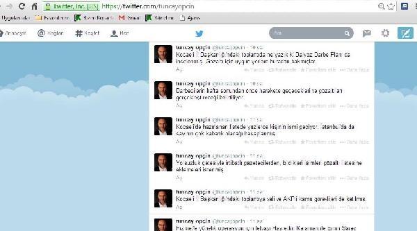 Gece Atılan Tweetler Kocaeli'yi Karıştırdı