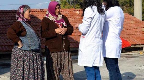 Geleceğin Doktorlari Köy Köy Dolaşarak Kadinlari Eğitiyor
