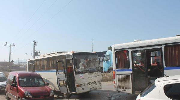 Gemlik'te Servis Araçları Çarpişti: 10 Yaralı