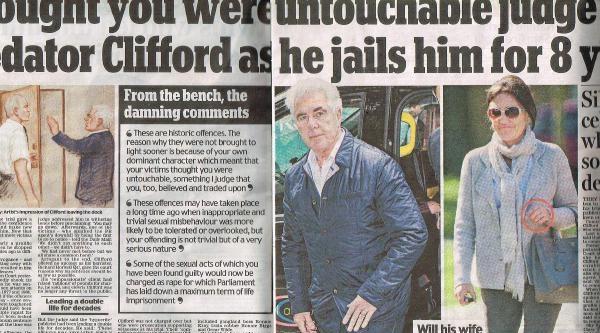 Genç Kızları Taciz Etmekten 8 Yıl Hapse Mahkum Olan Max Clifford İngiliz Gazetelerinin Bugünkü  Manşeti