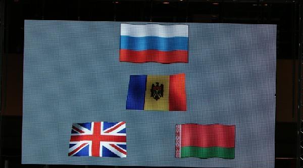 Gençler Avrupa Güreş Şampiyonasi'nda Bayrak Skandalı