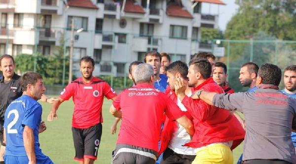 Gençlerbirliği'nin Hazırlık Maçında Kavga