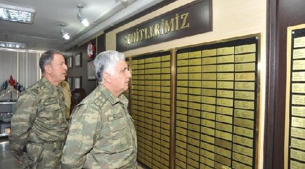 Genelkurmay Başkani Özel, Van, Hakkari, Şirnak'daki Askeri Birliklerde Denetlemelerde Bulundu