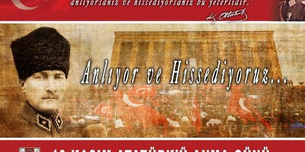Genelkurmay Başkani Özel'in 10 Kasim Atatürk'ü Anma Günü Mesaji
