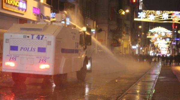 Geniş Haber// İstiklal Caddesi'nde Polis Müdahalesi
