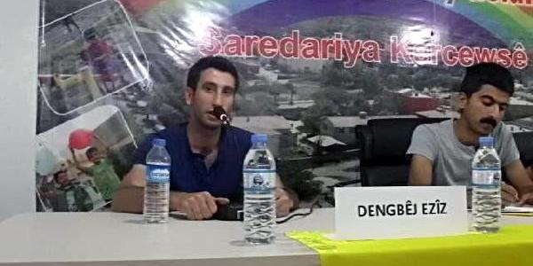 Gercüş'te Kürtçe Afişe Para Cezasi
