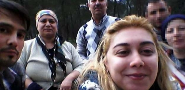 Geriye katiliyle çektirdiği selfie kaldı...