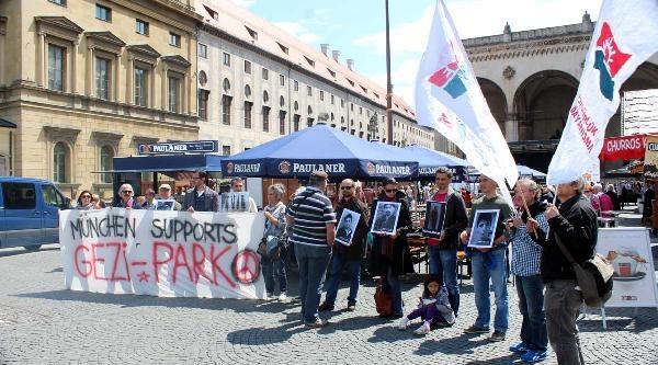 Gezi Parkı 1. Yıldönümünde Münih'te Anıldı