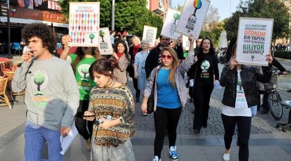Gezi Partisi Muratpaşa Ilçe Teşkilati Açildi