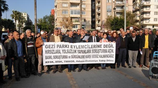 Gezi Soruşturmasinda Öğrencilerin Ifadeleri Alindi