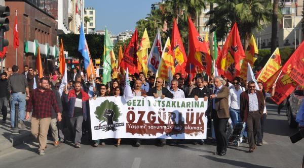 Gezi Tutuklularina Destek Eylemi