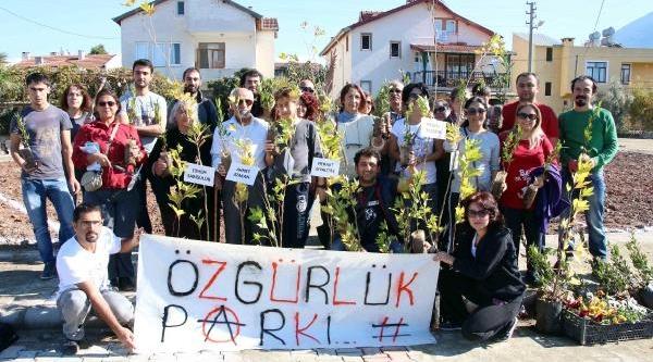 Gezi'de Yaşamini Yitirenler, 'özgürlük Parki'nda Yaşayacak