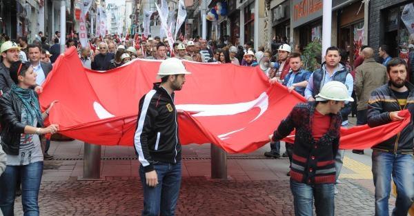 Giresun Add'den 19 Mayıs Ve Soma Yürüyüşü