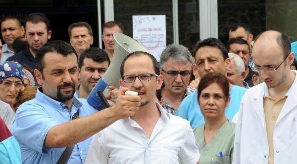 Giresun'da Doktora Saldırı Kınandı