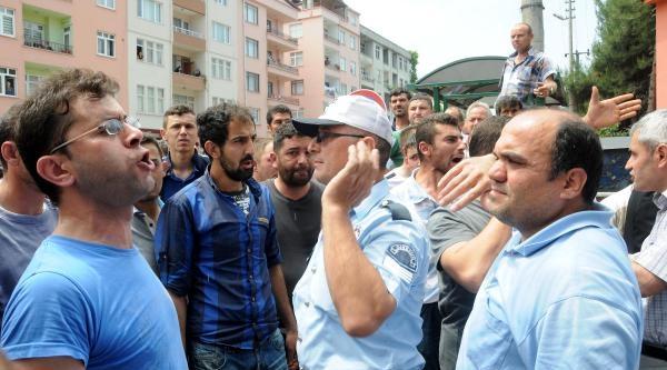 Giresun'da Öğrencilerle İşçiler Arasında Arbede