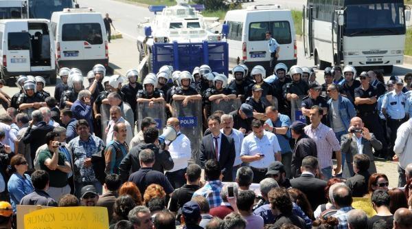 Giresun'da Soma Faciasını Protesto Eylemi