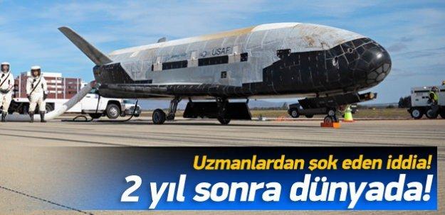 Gizli uzay aracı 2 yıl sonra dünyada!