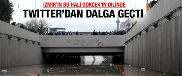 Gökçek İzmir'le fena dalga geçti!