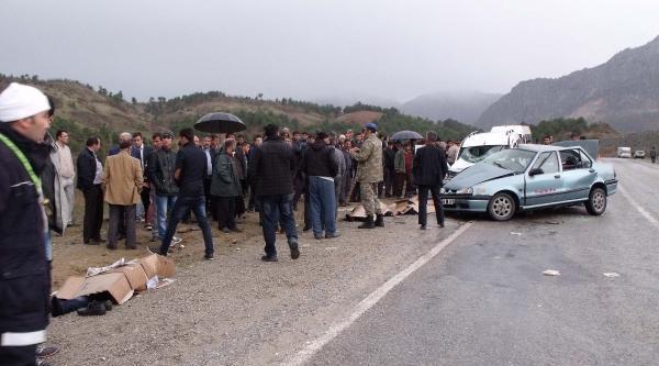 Göksun'da Kaza: 4 Ölü (ek Fotoğraflar)